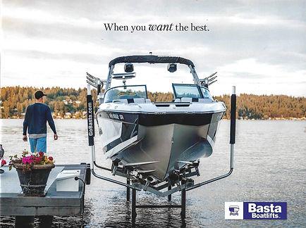 Basta Hydaulic Boat Lift