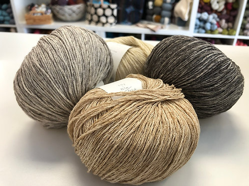 Gregoria Fibers - Natural Cotton Merino