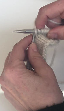 German Short Row knitting video tutorial
