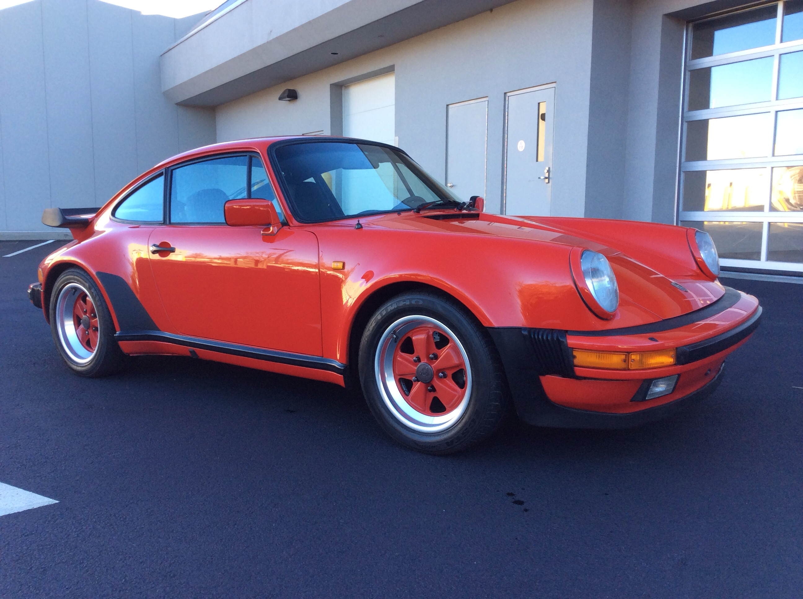 1984 Porsche 911/930