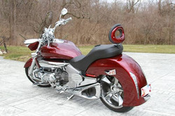 Rear Dual Saddle