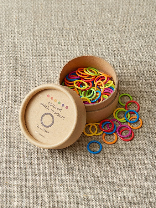 Cocoknits - Colored Ring Stitch Markers