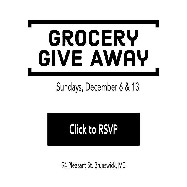 Grocery Giveaway Dec 6, click to rsvp.pn