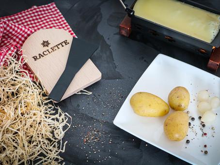 Raclette et Beaujolais
