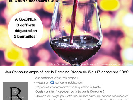 CONCOURS FACEBOOK DOMAINE RIVIERE