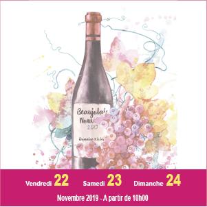 Journées Portes Ouvertes pour le lancement du Beaujolais Nouveau