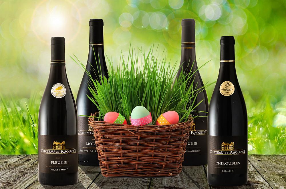 Les crus du Beaujolais font leurs Pâques