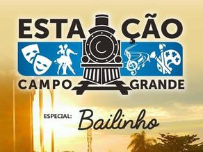Sectur realiza edição Bailinho na Estação Campo grande