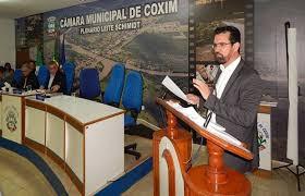 Vladimir Ferreira comanda a Mesa Diretora da Câmara de Coxim