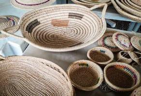 Exposição de artesanatos é atração do Dia Mundial do Refugiado