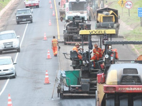 CCR MSVia informa: BR-163/MS tem bloqueios parciais para obras de manutenção da pista