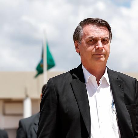Após reunião com membros do PSL, Bolsonaro diz que irá intervir na eleição da Câmara