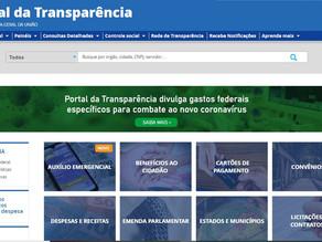 CGU alerta para instabilidade no Portal da Transparência do Governo Federal