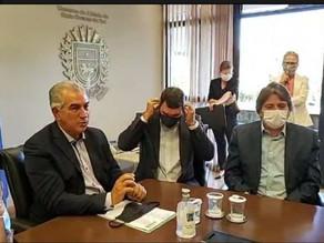 Caravina é empossado secretário-adjunto de Eduardo Riedel na Seinfra
