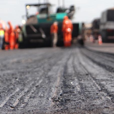 Manutenção do pavimento na BR-163/MS gera bloqueios na pista nesta quinta-feira