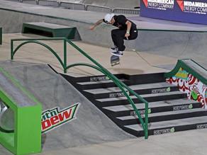 Eduardo Neves disputa Mundial de Skate em busca da classificação olímpica