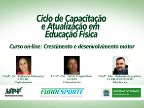 Curso on-line debate crescimento físico e desenvolvimento motor no esporte