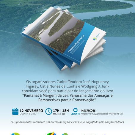 Livro Pantanal à Margem da Lei será lançado nesta quinta-feira
