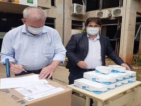 Campo Grande recebe cinco mil testes do governo do Estado para enfrentamento à Covid 19