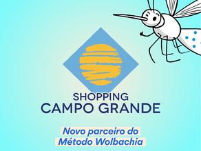 Shopping Campo Grande e Fiocruz divulgam Método Wolbachia para combate à dengue