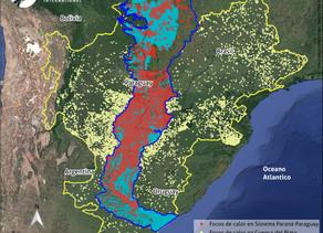 Wetlands International propõe ações para os problemas com incêndios na Bacia do Prata