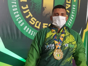 Campo-grandense conquista o ouro no Campeonato Brasileiro de Jiu-Jitsu Esportivo