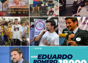 Eduardo Romero é candidato a vereador pelo Rede em Campo Grande-MS