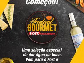 Rede atacadista promove Festival Gourmet até 18 de abril