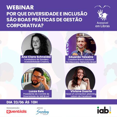 IAB Brasil promove webinar gratuito sobre a diversidade na publicidade digital