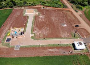 Sanesul conclui a estação de tratamento de esgoto em Laguna Carapã