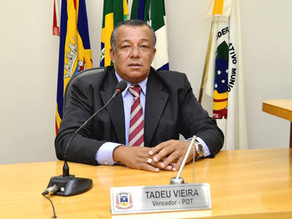 """""""Vamos conseguir cumprir as nossas obrigações e trabalhar para a eleição 2020"""", diz Tadeu Vieira"""