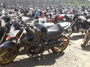 Detran-MS realiza dois leilões com mais de 200 veículos