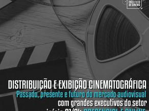 O Instituto de Cinema apresenta o curso Distribuição e Exibição Cinematográfica