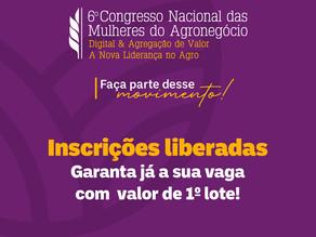 Congressos dedicados às mulheres e jovens do agro estão com inscrições abertas