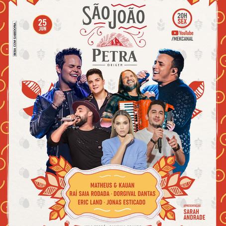 Matheus e Kauan anunciam live de São João Petra recheada