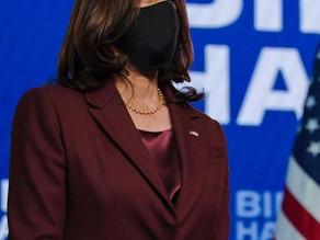 Kamala Harris se torna a primeira mulher vice-presidente dos EUA