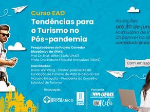 Curso EAD sobre tendências para o turismo pós-pandemia está com inscrições abertas