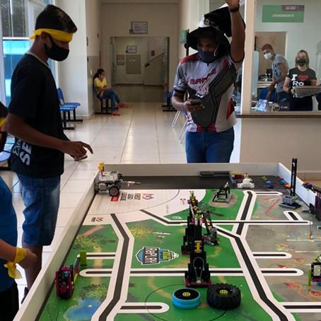 Campeonato interclasse de robótica é realizado pela Escola Sesi em Aparecida do Taboado