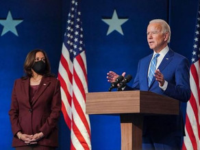 Joe Biden e Kamala Harris tomam posse no Capitólio