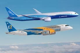 Boeing e Embraer tem fusão autorizada por Jair Bolsonaro