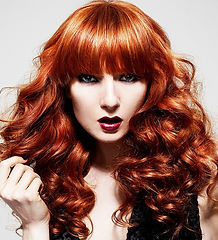 Hairdressing Salon in Leigh - Ladies Red Head Hair Style