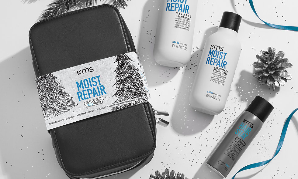 KMS Moist Repair Christmas Gift Bag