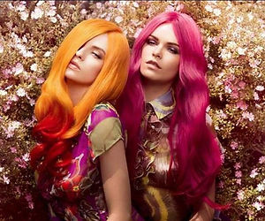 Ladies Colourful Hair