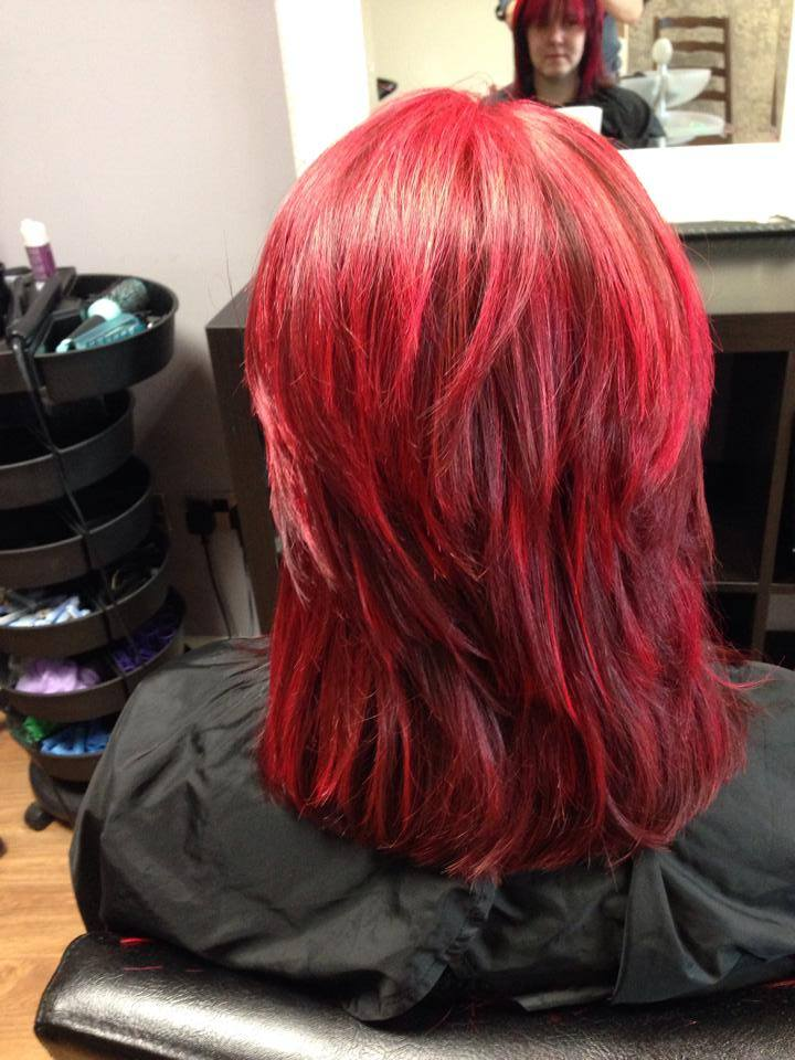 Layered Red