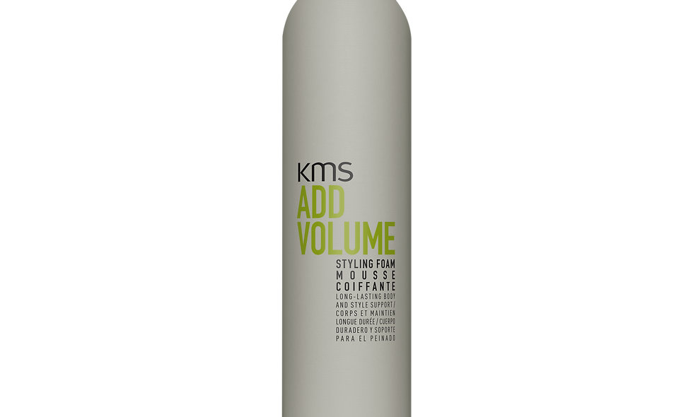 KMS Add Volume Styling Foam Mousse