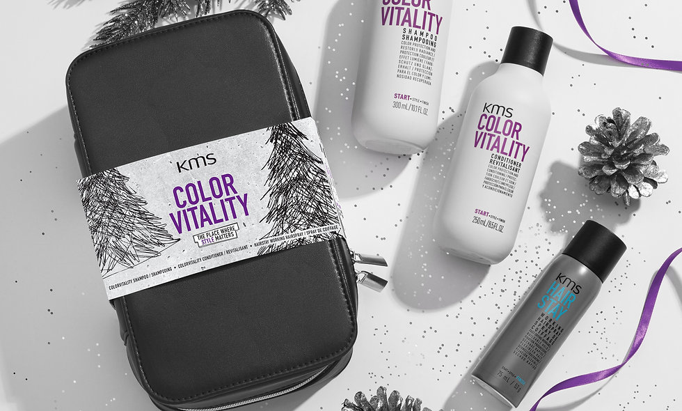 KMS Color Vitality Christmas Gift Bag