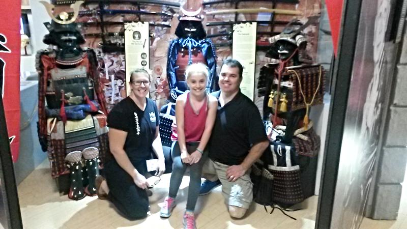 Martial Art Museum Samurai Exibit
