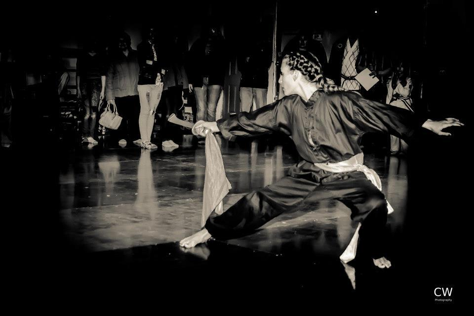 Skyler- Kung Fu sword form