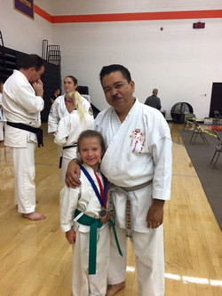 Shihan Victor Chico with Hannah