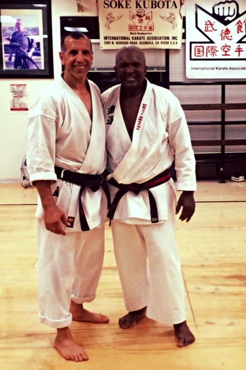 Hanshi with Shihan George